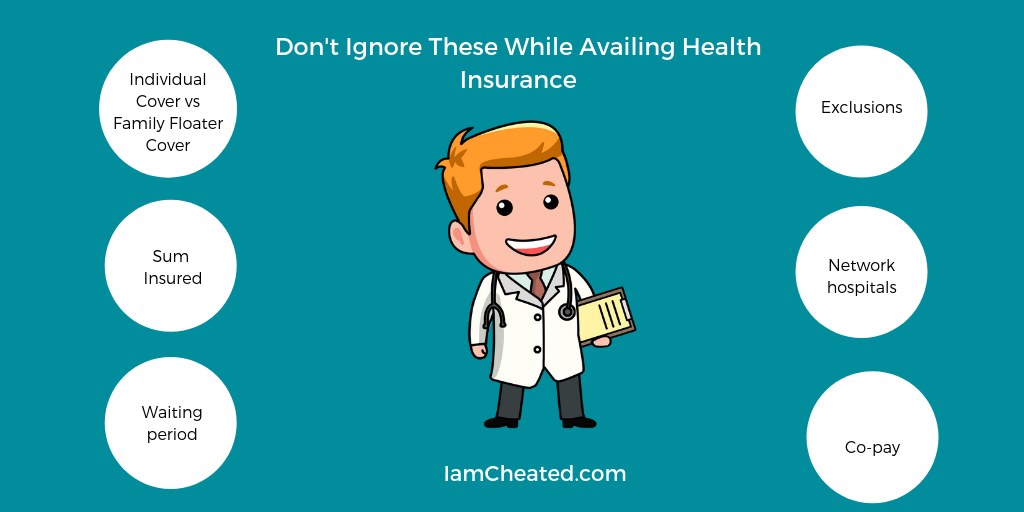 Don't Ignore These While Availing Health Insurance