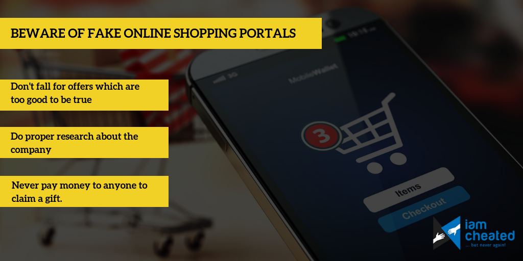 Beware of Fake Online Shopping Portals