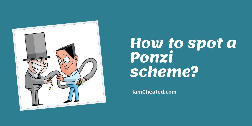 How to Spot a Ponzi Scheme?