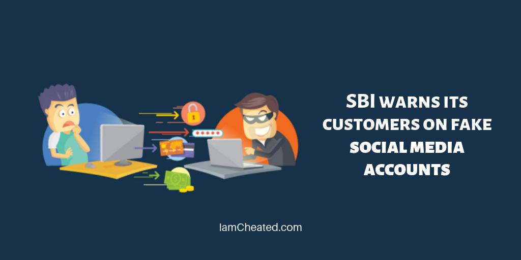 SBI warns its customers on fake social media accounts