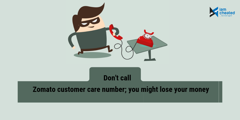 Don't call Zomato customer care number; you might lose your money