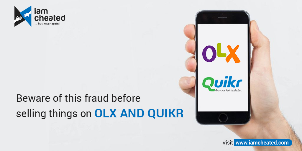 Beware of this fraud before selling things on Olx and Quikr