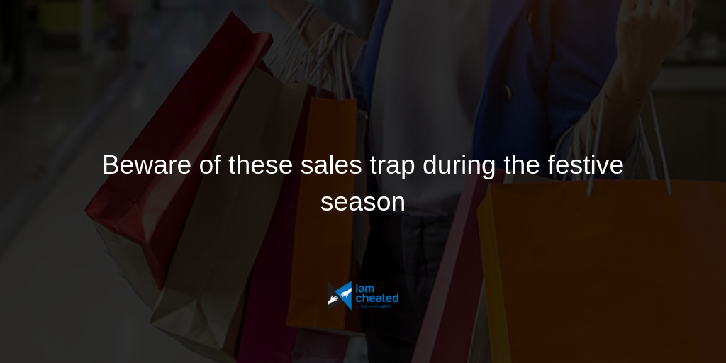 Beware of these sales traps during the festive season