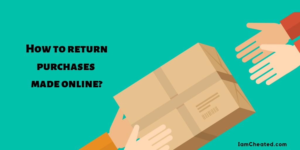How to return purchases made online?
