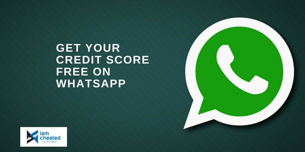 Get Your Credit Score Free On WhatsApp
