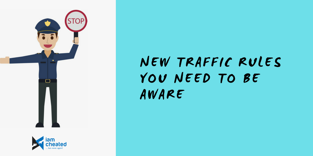 New Traffic Rules You Need To Be Aware
