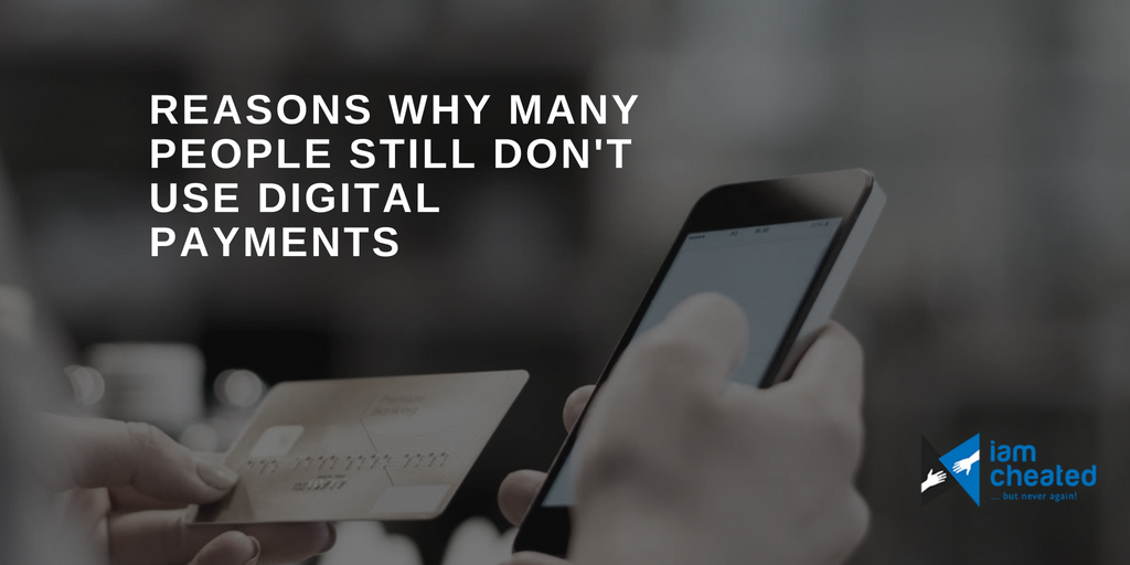 Reasons Why Many People Still Don't Use Digital Payments