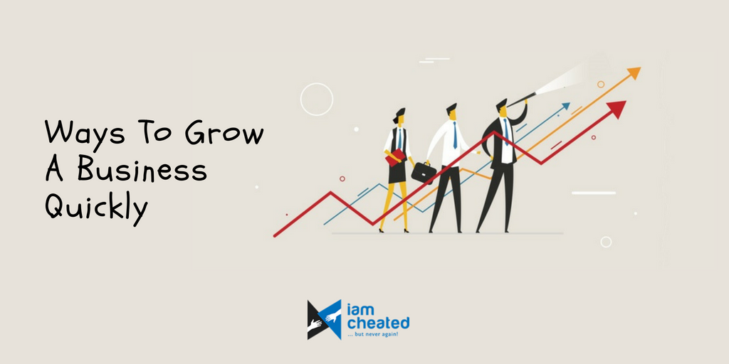 Ways To Grow A Business Quickly