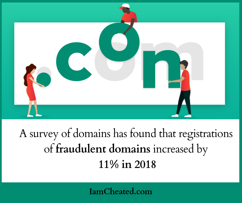 Fraudulent domains increased by 11% in 2018