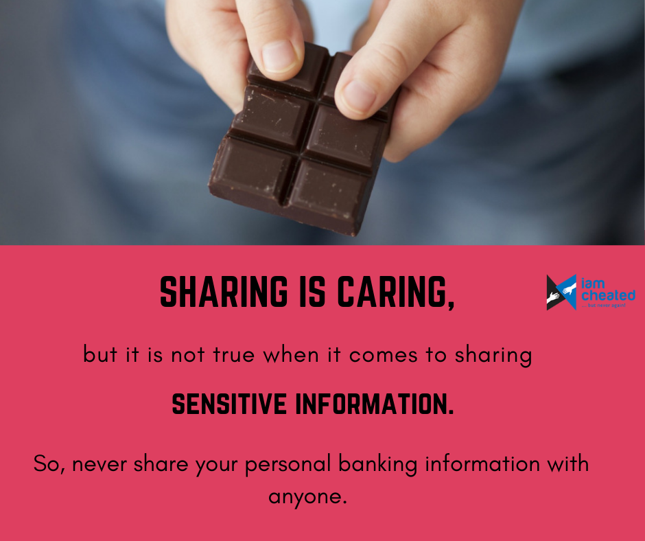 Sharing is caring, but it is not true when it comes to sharing sensitive information.