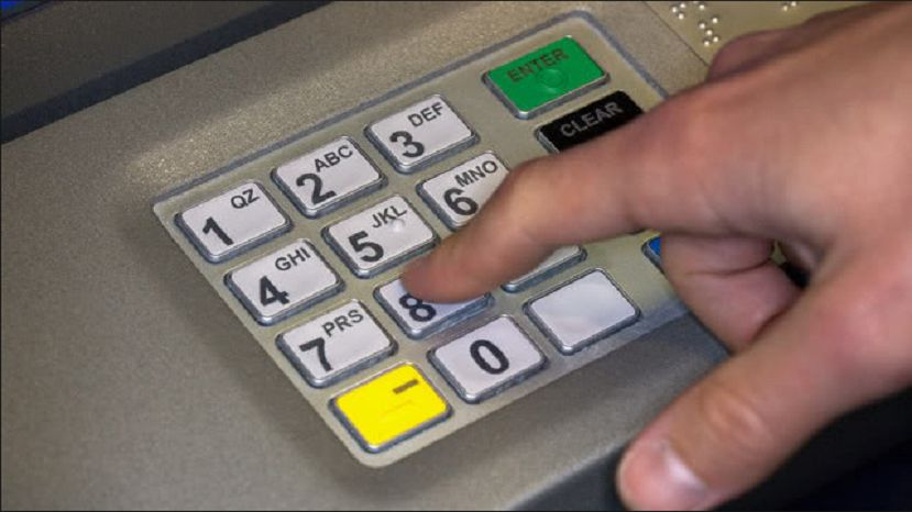 Pressing the 'cancel' button twice on an ATM does not prevent pin theft