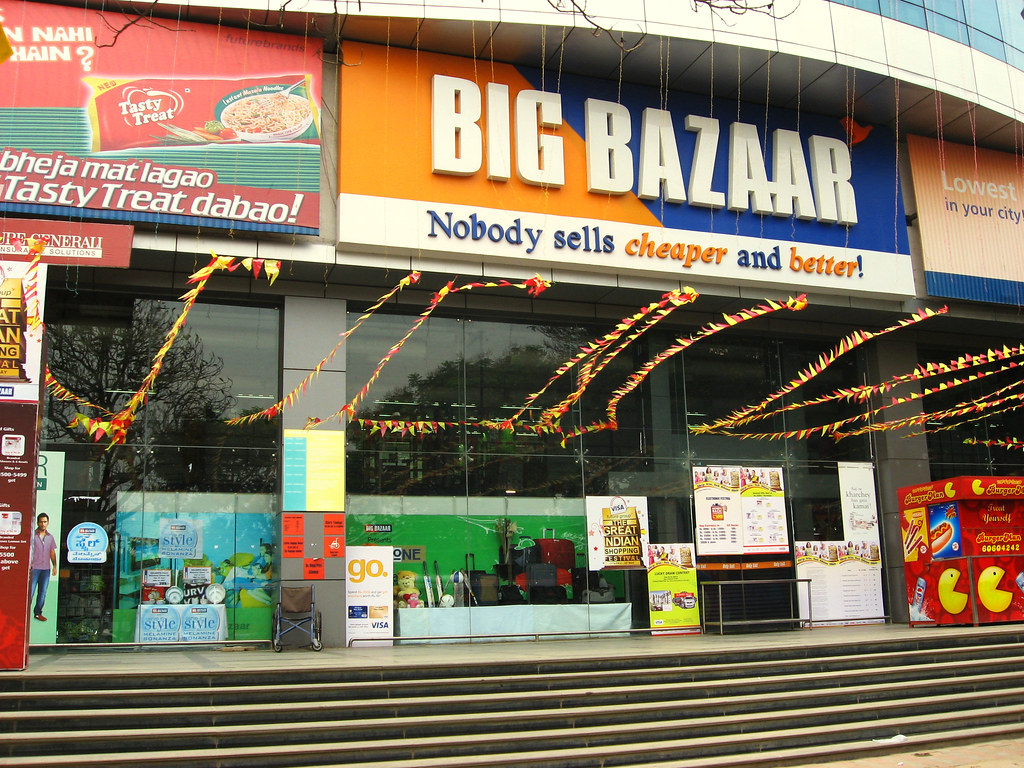 Big Bazaar has been fined Rs 11,500 for charging Rs 18 for a carry bag